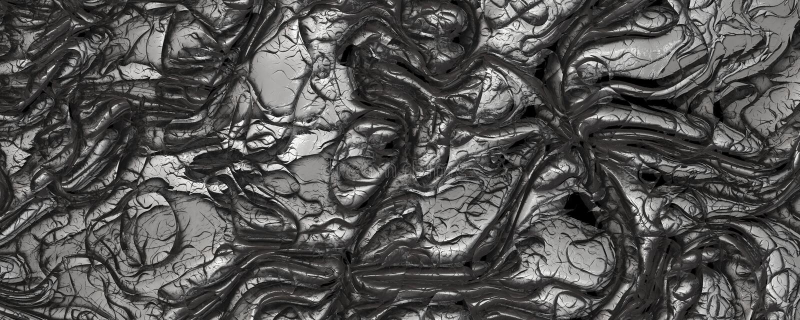 Abstrakcjonistycznego 3d renderingu srebra tekstury rzemienny tło ilustracji