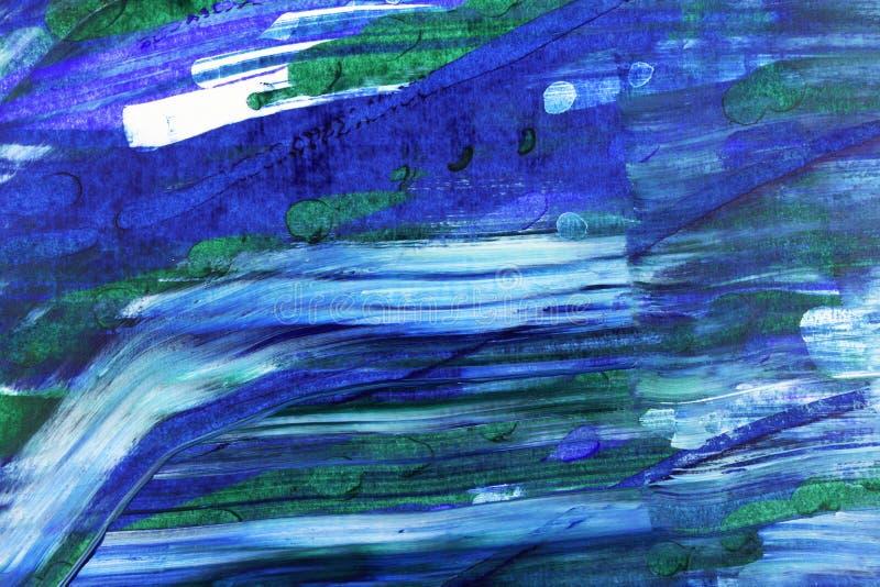 Abstrakcjonistycznego duotone akrylowy tło obrazy stock