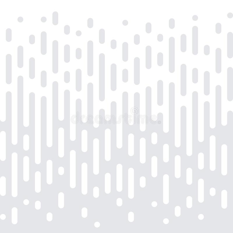 Abstrakcjonistycznego geometrycznego halftone tekstury bezszwowy deseniowy wektorowy biały minimalny gradientowy tło royalty ilustracja