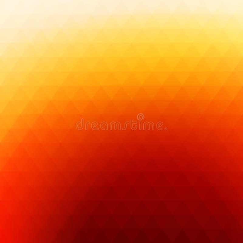 Abstrakcjonistycznego gradientowego rhombus kolorowy tło royalty ilustracja