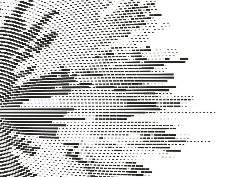 Abstrakcjonistycznego halftone kropkowany tło Wektorowa nowożytna tekstura dla plakatów, miejsca, wizytówki, pokrywa ilustracja wektor