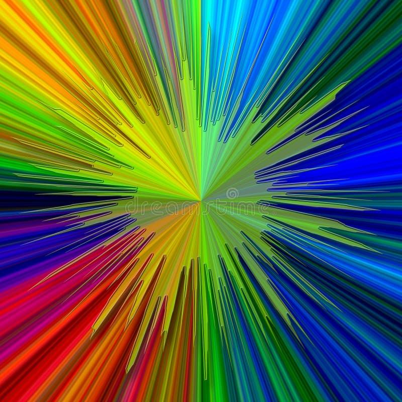 abstrakcjonistycznego jasno tła neon ilustracja wektor