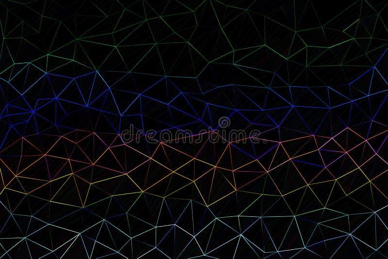 abstrakcjonistycznego kolorowe geometrycznego tła obraz royalty free