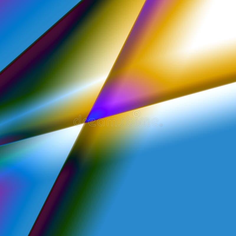 abstrakcjonistycznego kolorowe tła pryzmat ilustracji