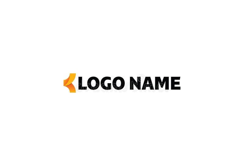 abstrakcjonistycznego kolorowego projekta graficzny ilustracyjny logo ilustracja wektor