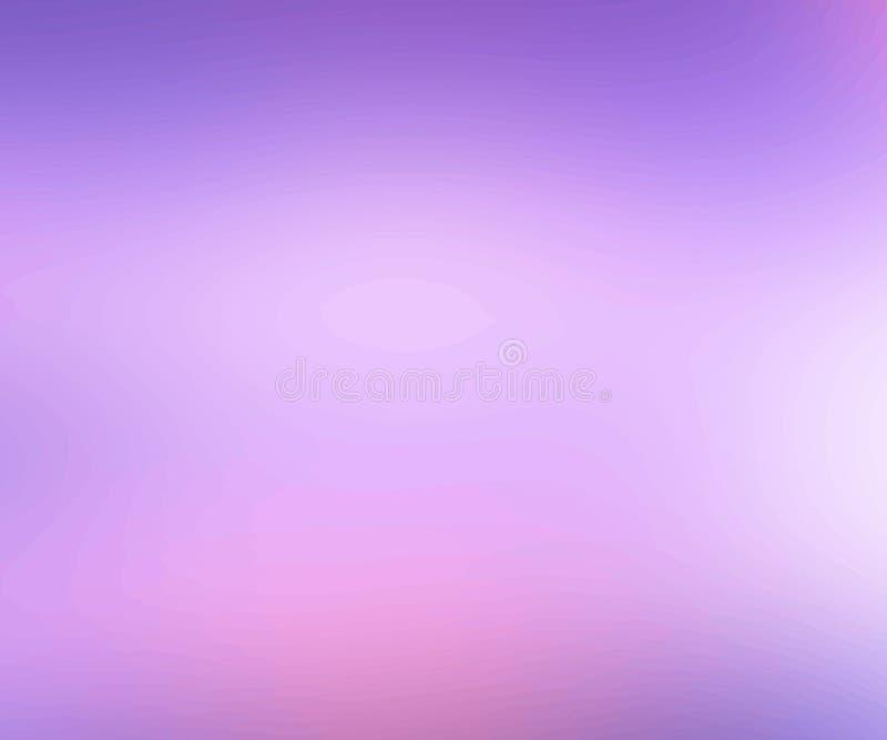 Abstrakcjonistycznego kreatywnie pojęcia wektorowy stubarwny zamazany purpurowy tło Szablon dla plakata, ulotki i prezentaci, szt royalty ilustracja