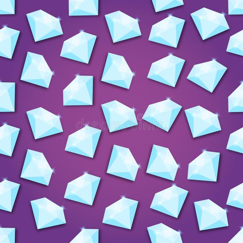 Abstrakcjonistycznego Kreatywnie pojęcia wektorowy tło diament dla sieci i wiszącej ozdoby zastosowań, Ilustracyjny szablonu proj ilustracja wektor