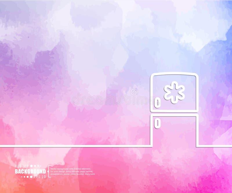 Abstrakcjonistycznego Kreatywnie pojęcia wektorowy tło dla sieci i wiszącej ozdoby zastosowań, Ilustracyjny szablonu projekt, biz royalty ilustracja