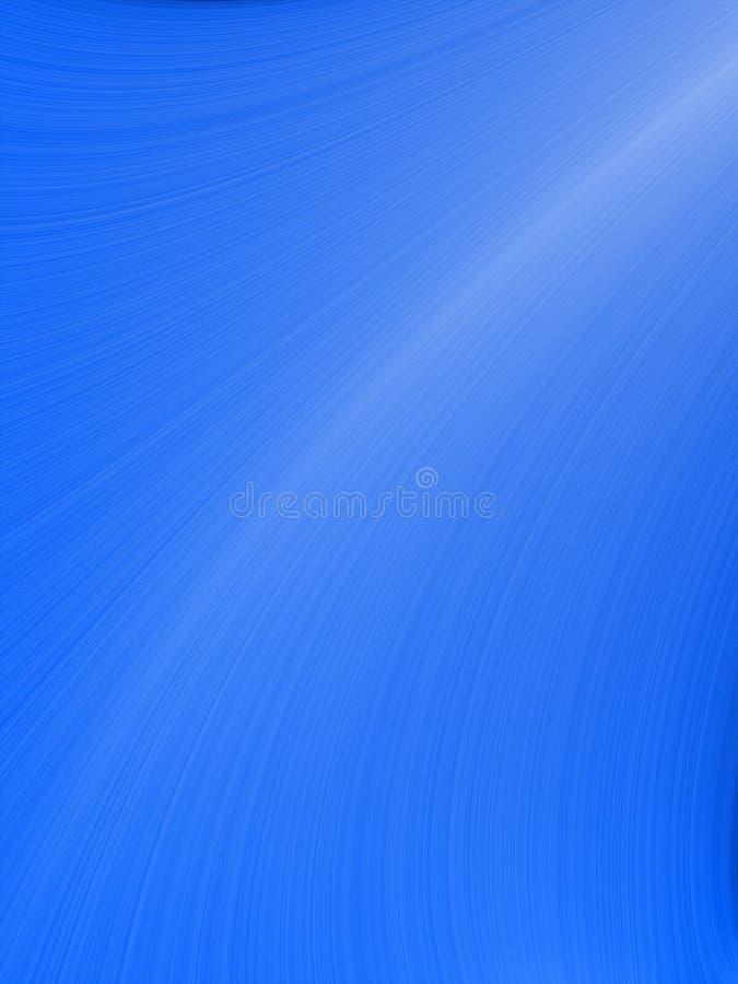 abstrakcjonistycznego niebieski tła falisty royalty ilustracja