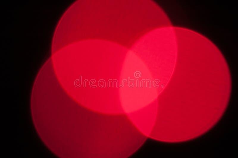 Abstrakcjonistycznego okręgu skrzyżowania czerwoni światła obraz royalty free