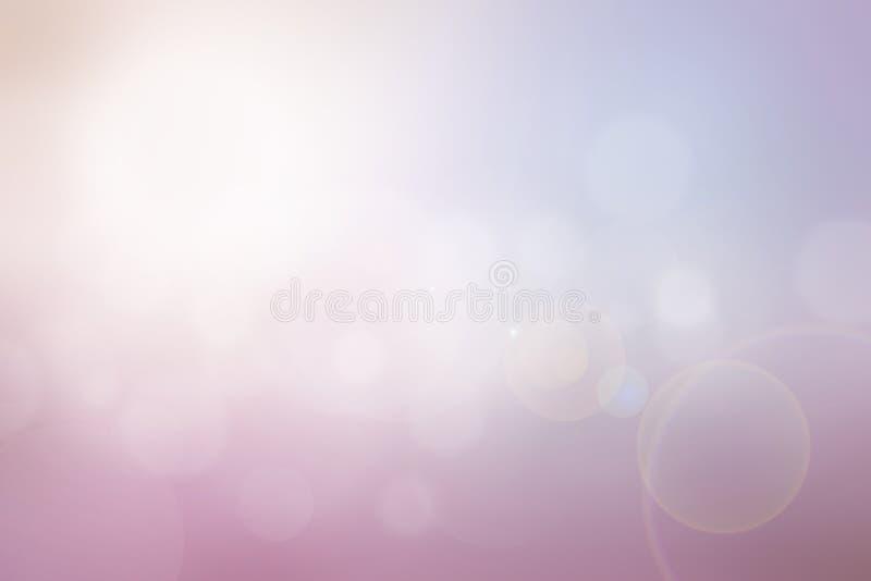 Abstrakcjonistycznego słodkiego koloru zamazany tło obraz stock