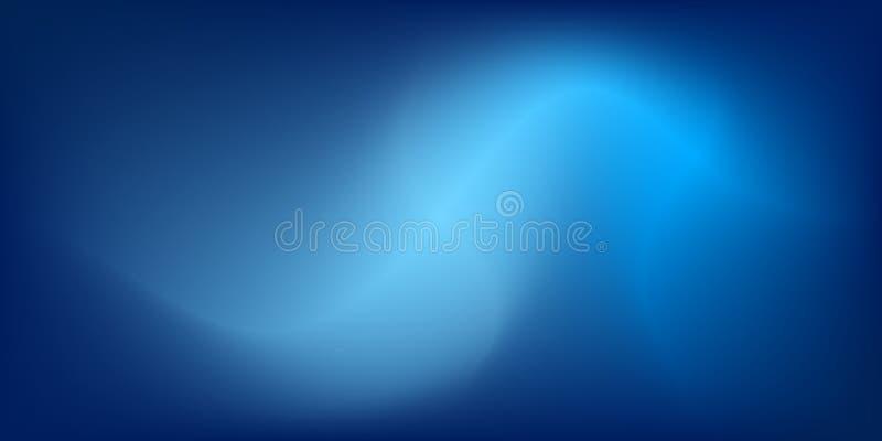 Abstrakcjonistycznego tła błękitny i lekki kolor royalty ilustracja
