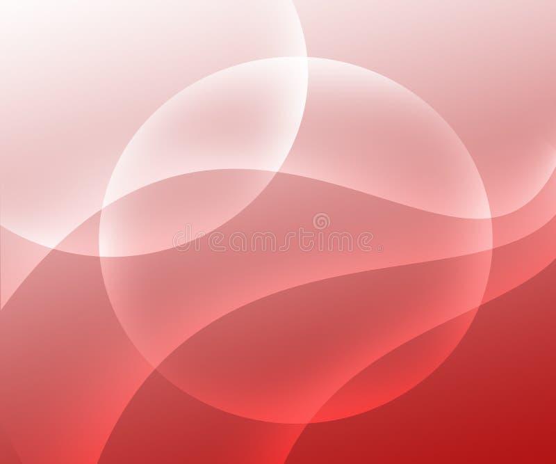 Abstrakcjonistycznego tła światła magenta i biały gradient z okręgami royalty ilustracja