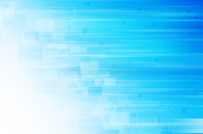 Download Abstrakcjonistycznego Tła Błękitny świateł Cieni Technologia Ilustracji - Ilustracja złożonej z czysty, arrowed: 53782187