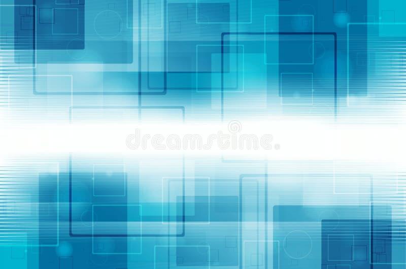 Download Abstrakcjonistycznego Tła Błękitny świateł Cieni Technologia Ilustracji - Ilustracja złożonej z wybuch, abstrakcja: 53782211