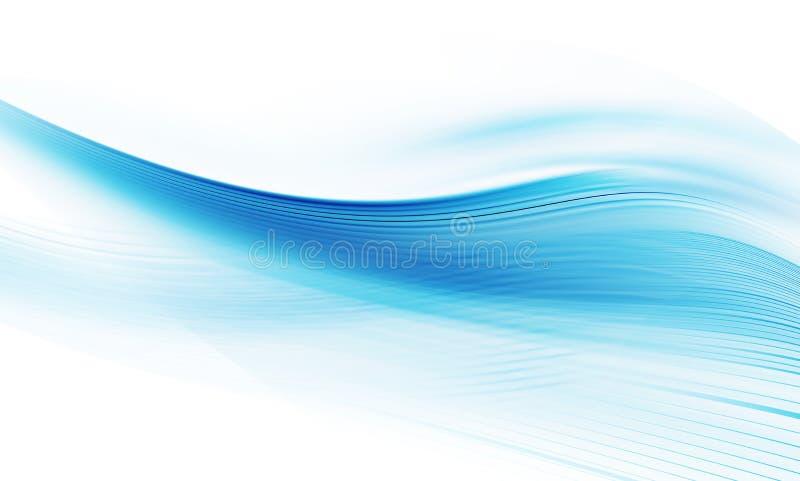 abstrakcjonistycznego tła błękitny czysty copyspace ilustracji
