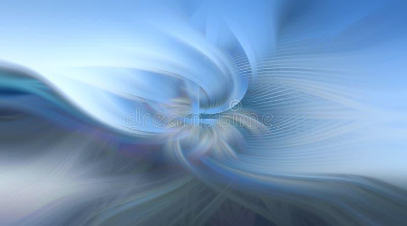 abstrakcjonistycznego tła błękitny futurystyczny zdjęcie royalty free