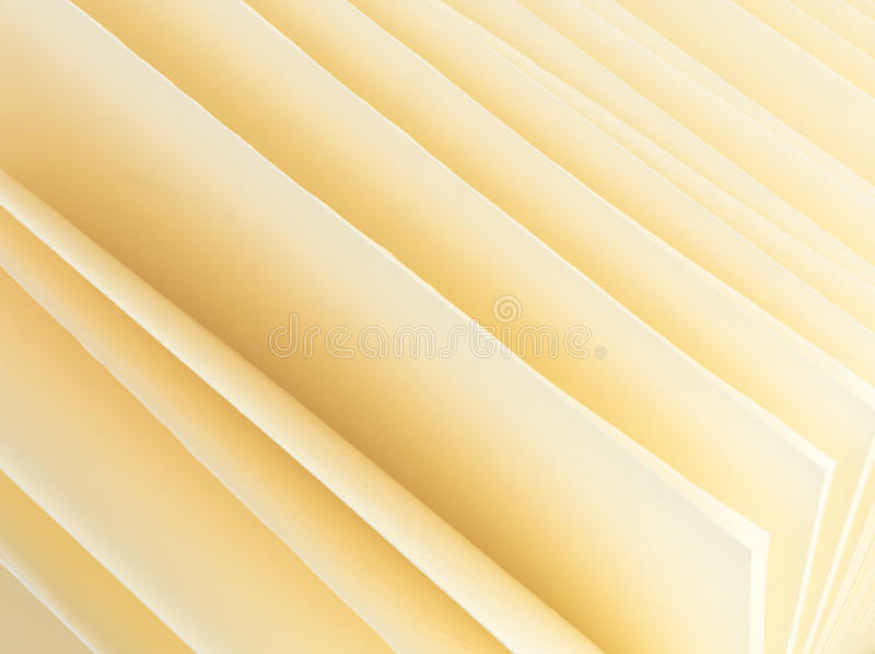 Abstrakcjonistycznego tła czyści żółci prześcieradła albumowi ilustracji