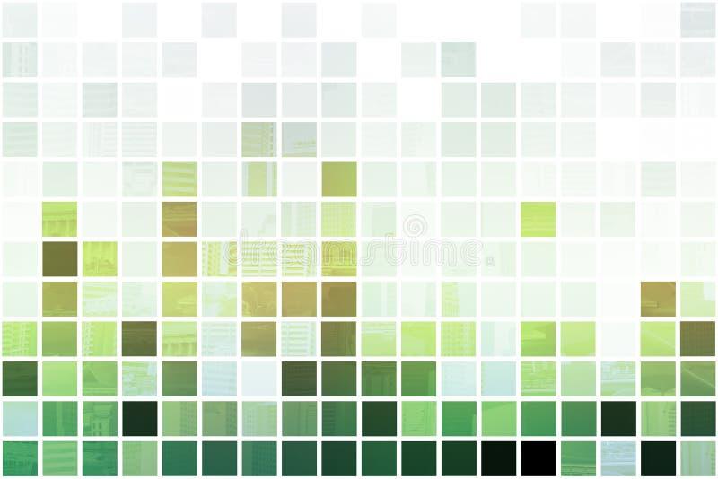abstrakcjonistycznego tła czysty zielony prosty royalty ilustracja
