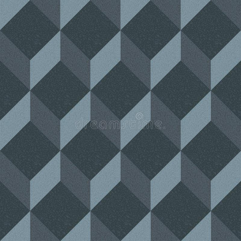 abstrakcjonistycznego tła geometryczny deseniowy bezszwowy ilustracji