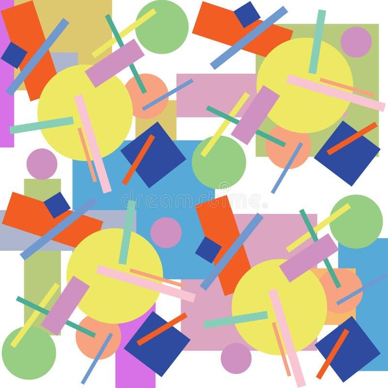 abstrakcjonistycznego tła geometryczny ornamental zdjęcie royalty free