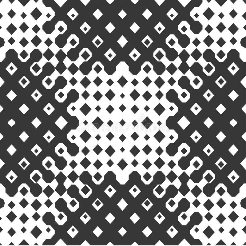 abstrakcjonistycznego tła ilustraci wzoru bezszwowy wektor ilustracja wektor