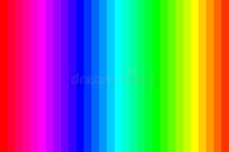 abstrakcjonistycznego tła kolorowa tęcza ilustracja wektor