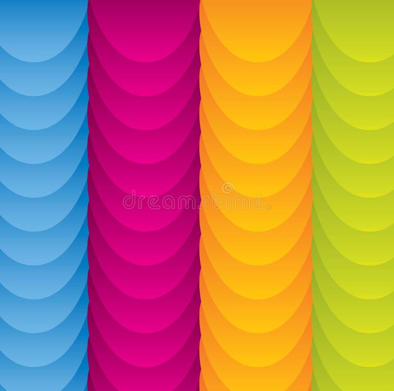 abstrakcjonistycznego tła kolorowa zabawa ilustracji