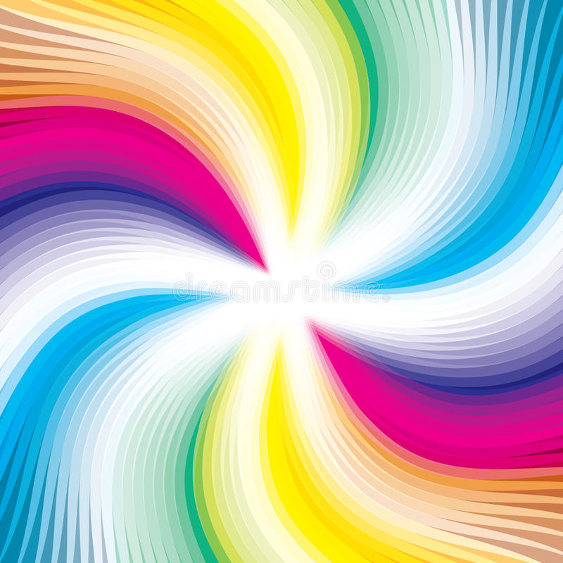 abstrakcjonistycznego tła kolorowe obraz cyfrowy linie royalty ilustracja
