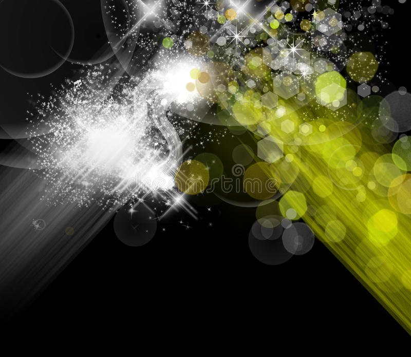 abstrakcjonistycznego tła kolorowy światło ilustracja wektor