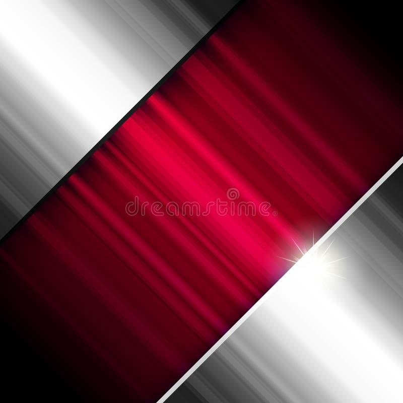 abstrakcjonistycznego tła kruszcowa czerwień royalty ilustracja