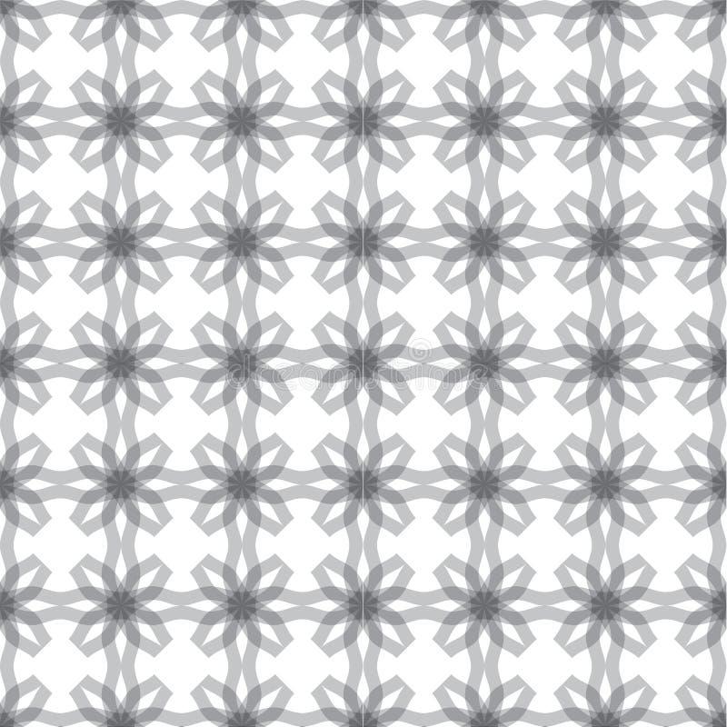 abstrakcjonistycznego tła kwiecisty bezszwowy ilustracji