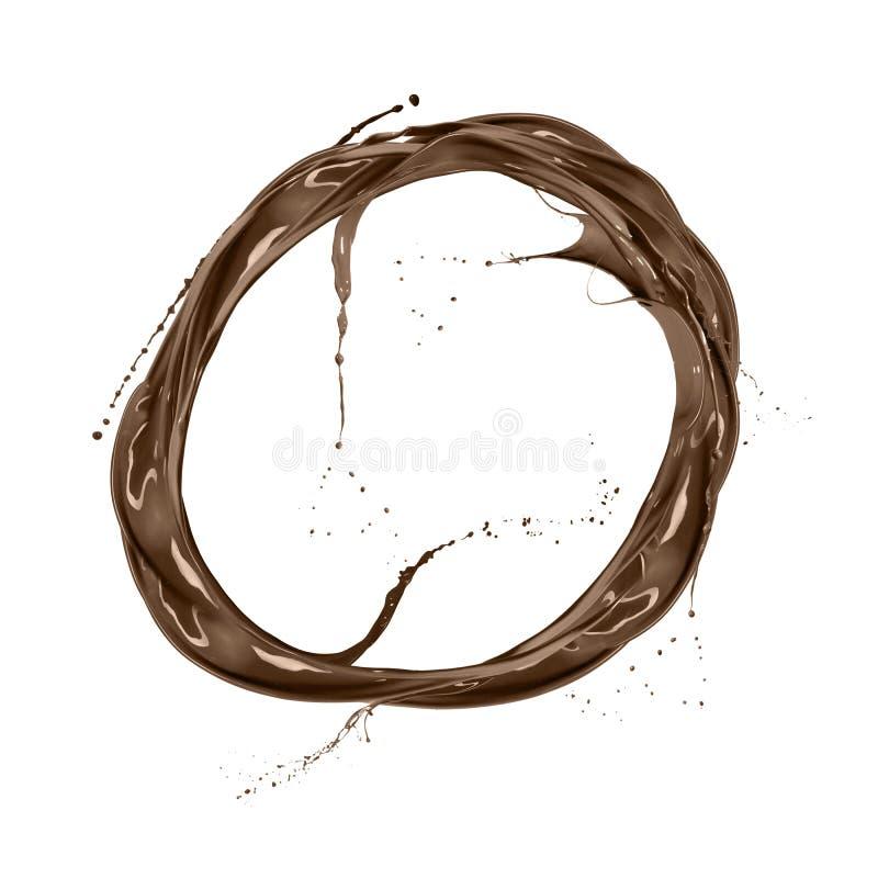 abstrakcjonistycznego tła piękny czekoladowy ciecz zdjęcia stock