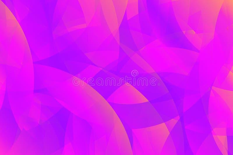abstrakcjonistycznego tła projekta ilustraci wektoru wibrujący fiołek jaskrawa gradientowa tekstura w modnych kolorach Tło z błys royalty ilustracja
