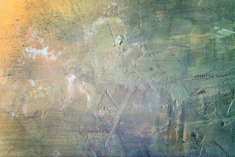 Abstrakcjonistycznego tła trudny kit Niezwykłe kolor przemiany, opróżniają przestrzeń zdjęcia royalty free