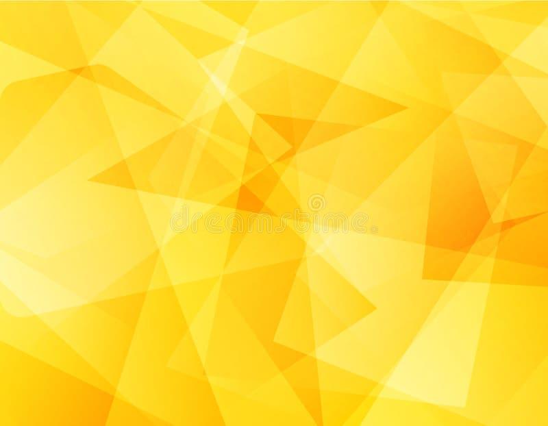 Abstrakcjonistycznego tło projekta geometryczny złoto zdjęcie stock
