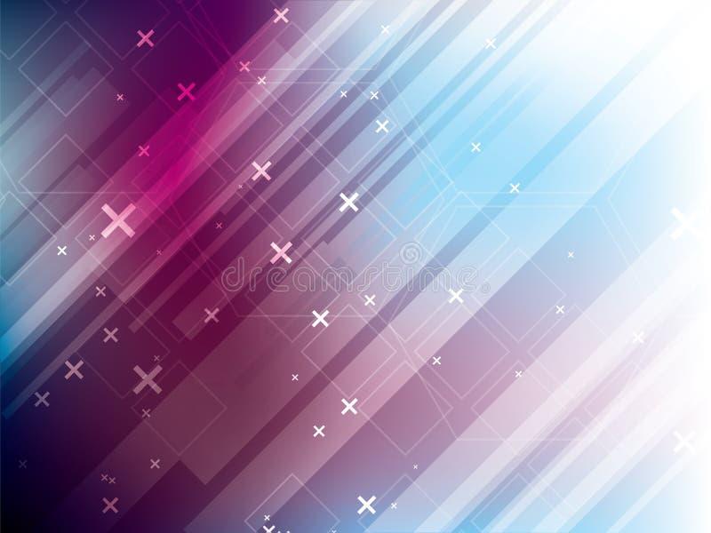 Abstrakcjonistycznego technologii tła vetor cyfrowa komunikacja ilustracji