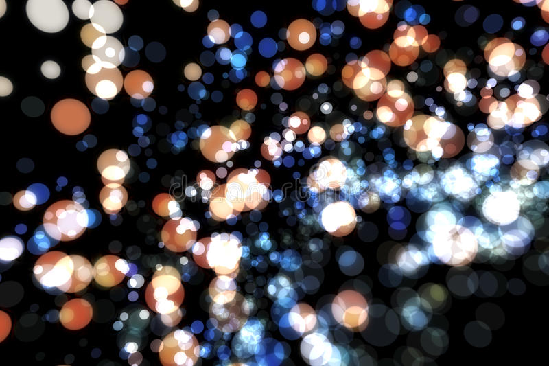 Abstrakcjonistycznego wizerunku tła rozjarzone cząsteczki fotografia royalty free
