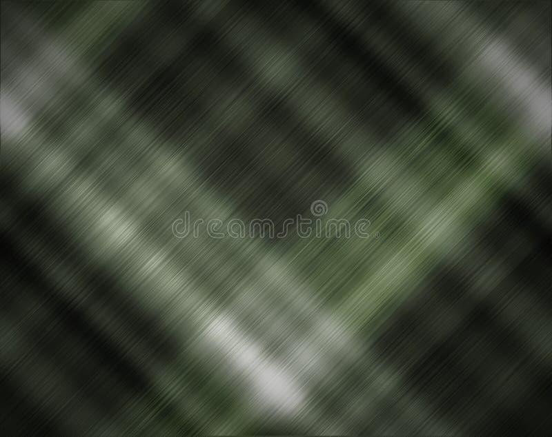 Abstrakcjonistycznego zmroku popielaty i zielony tło royalty ilustracja
