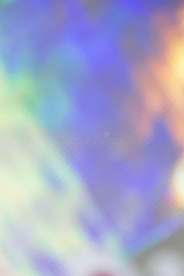 Abstrakcjonistycznej świątecznej wiosny stubarwnej purpurowej magicznej tęczy pionowo tło w różnych pastelowych cieniach obraz stock