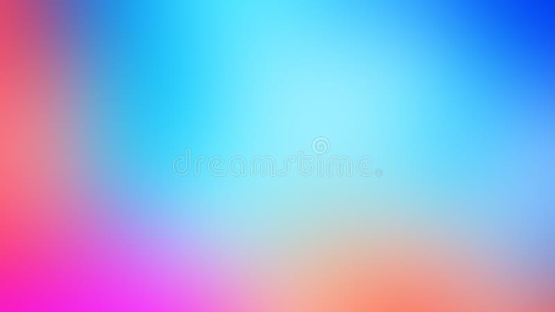 Abstrakcjonistycznej akwarela pomarańczowego koloru żółtego kolorowej błękitnej purpurowej fiołkowej fiołkowatej czerwonej plamy  ilustracji