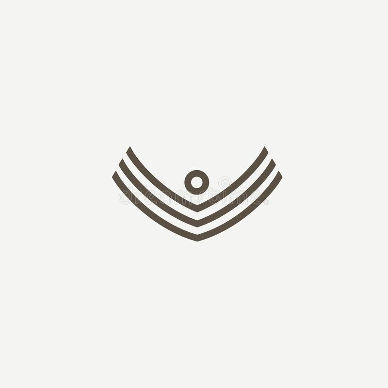 Abstrakcjonistycznej atleta loga ikony wektorowy projekt Gym, sport gry, sprawność fizyczna, biznes, trenera wektoru logo ilustracji