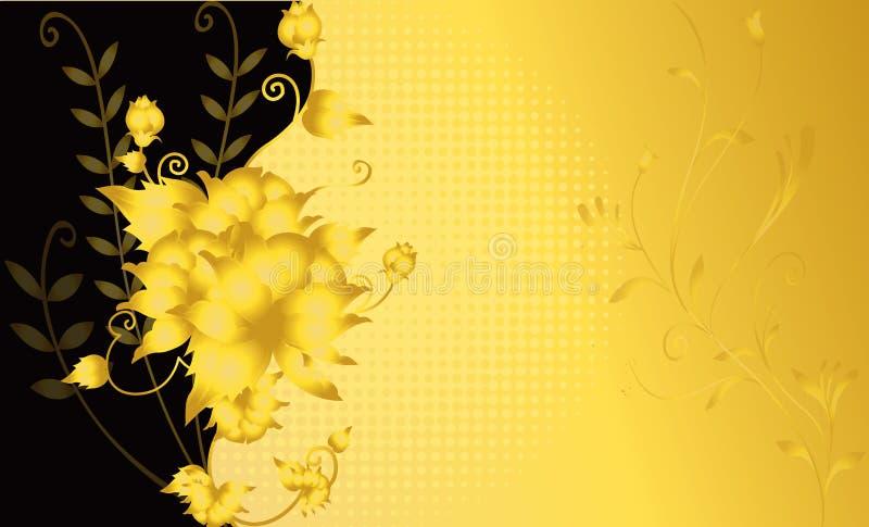 abstrakcjonistycznej kwiatu ilustraci różany ślub ilustracja wektor