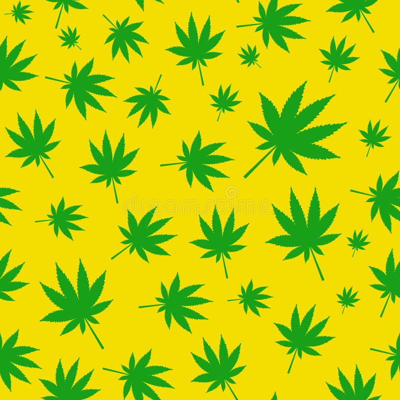 Download Abstrakcjonistycznej Marihuany Bezszwowy Deseniowy Tło Ilustracja Wektor - Ilustracja złożonej z natura, element: 53789130