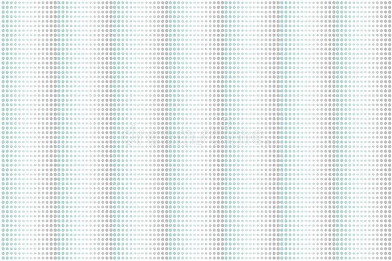 Abstrakcjonistycznej miękkiej części popielatego i zielonego koloru okręgu kropek dekoracji wzoru tło Ilustracyjny wektor eps10 royalty ilustracja