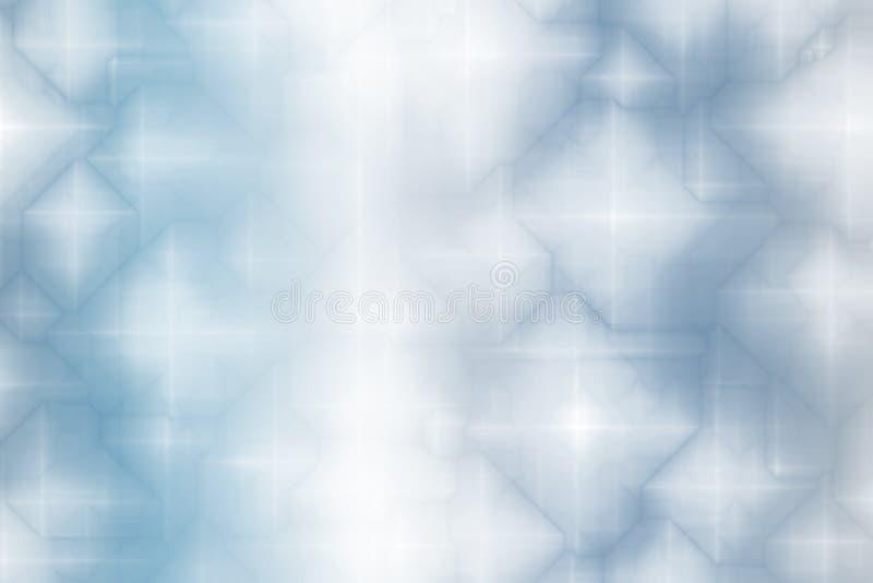 abstrakcjonistycznej niebieskiej tła fantazji magiczna miękka royalty ilustracja