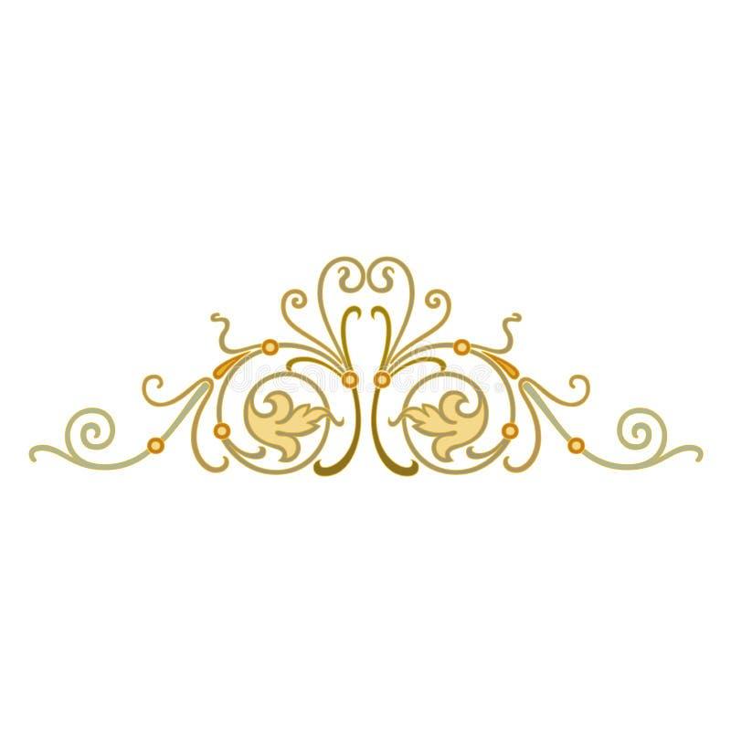 Abstrakcjonistycznej orientalnej mozaiki dekoracyjny kolorowy ?wiat Ornamentuje grafik? royalty ilustracja