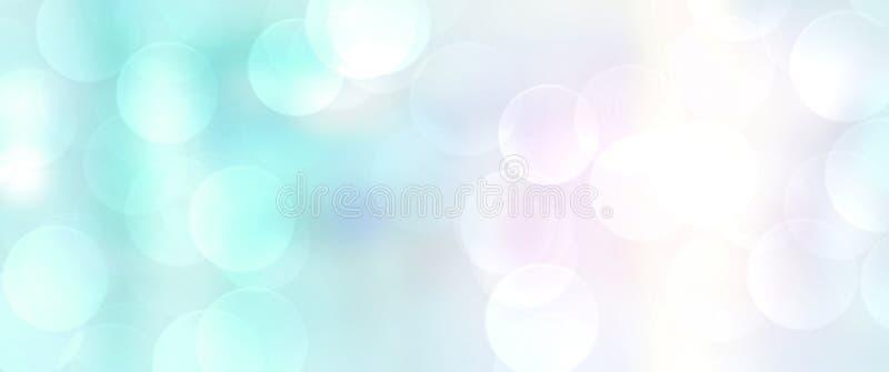 Abstrakcjonistycznej plamy tła współczesny biurowy wewnętrzny błękitny pojęcie royalty ilustracja