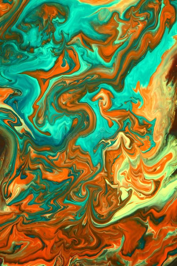 abstrakcjonistycznej sztuki ciecz obraz royalty free
