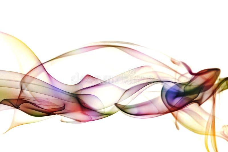 abstrakcjonistycznej sztuki dym zdjęcie stock